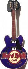 Hard Rock Cafe BARCELONA 2007 Purple CORE GUITAR Series PIN 2 Strings HRC #43542
