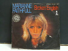 MARIANNE FAITHFULL Broken english 101249