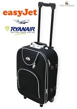 VALIGIA TROLLEY IN TELA  BAGAGLIO A MANO RYANAIR EASY JET  2 RUOTE LOW COST