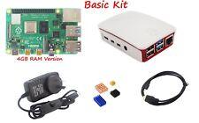 AU Raspberry Pi 4 Model B 4GB RAM All in 1 Kit SD/HDMI/Case/Keyboad/xbox Gamepad