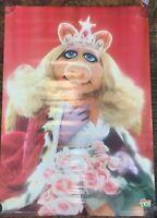 Vintage Original 1979 The Muppet Movie Miss Piggy 28x20 Poster Scandecor Rare