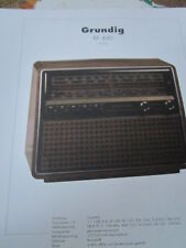 Schaltplan N Radio S Grundig RF 440, 1976