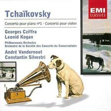 Georges Cziffra /Leonid Kogan/ - Tchaikovsky: Piano-Concerto, Violincon (NEW CD)