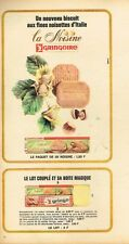 C- Publicité Advertising 1965 Biscuits La Noisine Gringo Gringoire