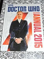 BBC Doctor Who - The Official Annual 2015 - Hardback Book