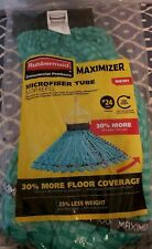 Rubbermaid Commercial Products Maximizer #24 Microfiber Tube Mop Head