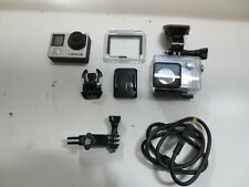 GoPro Hero 4 Black Edition 4K Action Camera With Accessories Parts Not Working