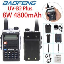 Baofeng BF-UVB2 PLUS (UV-5R Upgrade) UHF VHF Dual Band 2-Way Radio Walkie Talkie