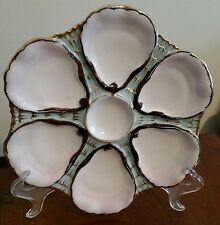 Antiqu 00004000 e Oyster Plate - C. Tielsch 6 Wells - German