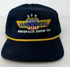 Vtg Nasa Trucker Snapback Cap Hat Vandenburg Aerospace Shoe 1998 Afb Embroidered