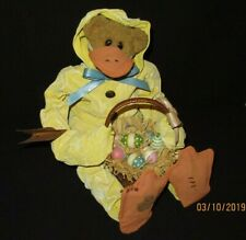 "Boyd's #73117 ""Quacker Crumpleton"" Bear in Duck's Clothing - Easter- Spring"