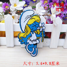 Sew on & iron on  patches(Smurf Girl)