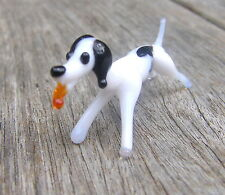 Vintage en verre de Murano Animal Running HOUND DOG