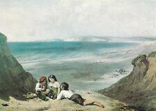 William Collins Seaford Sussex Postcard unused VGC