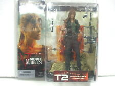 Mcfarlane Movie Maniacs Series 5 Sarah Connor Long Flowing Hair Var T2Terminator
