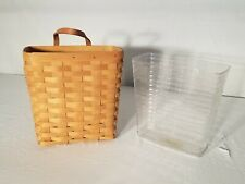 New ListingLongaberger 1996 Tall Key basket + protector. (mail basket / catch all)