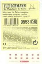 Fleischmann Piccolo 9553. DB Logos für Reisezugwagen