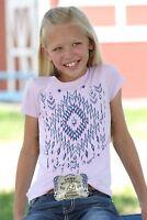 Cruel Girl Girls Lavender Aztec Short Sleeve Tee CTT6850020