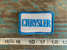VINTAGE CHRYSLER PATCH DODGE PLYMOUTH MOPAR 300 300M AIRFLOW CROSSFIRE IMPERIAL