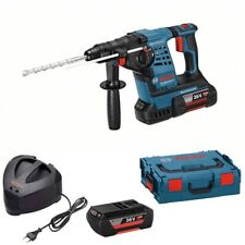 Bosch Piles Perforateur Gbh 36 V Li Plus Avec Sds-Plus 2 x 4,0 Ah LI-ION Piles,L