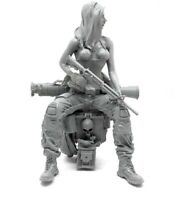 █ 1/35 Resin Female US Seals Soldier Lara Unpainted Unassembled YF102