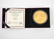 Highland Mint Mickey Mantle Bronze Coin # out of 5000