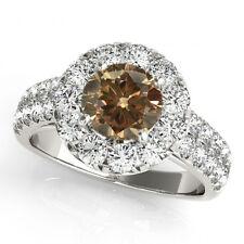 1.75 Carat Brown Cognac Diamond Solitaire Anniversary Ring Best Deal Ebay Beauty