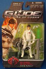 Hasbro G.I.Joe: Storm Shadow Paris Pursuit - 2009 Action Figure Free Shipping!