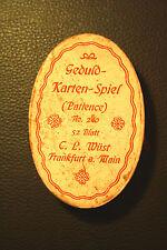 C.L. Wüst 1885 Playing cards Karten-Spiel patiens No 240 deck consists 52 cards