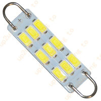 "Festoon 44mm 1.73"" 211-2 212-2 214-2 9-SMD-5730 Rigid Loop LED Bulb wholesale"