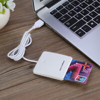 USB Card IC Smart Chip Credit Portable Card Reader Encoder Writer with SIM Slot