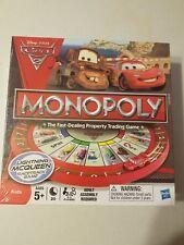 Monopoly Disney Pixar Cars 2 Version Racetrack Game