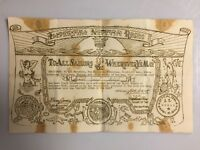 NEPTUNE REX WWII WW2 Certificate Found