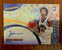 2020-21 Panini Revolution James Wiseman Rookie Autograph #RA-JW GS Warriors RC