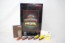 MARKLIN Z SCALE #8134 500 YEARS POST SET, ENGINE AND FREIGHT CARS SET, BOXED