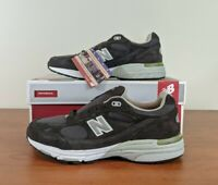 New Balance 993 Men's Sneakers Dark Green Suede Made in USA US993DG Size 10 - 14