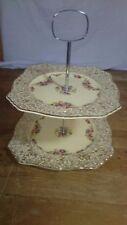 Vintage Royal Winton Grimswade Two Tier Cake Stand