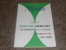 THE ATLANTIC MAGAZINE / JANUARY 1963 / CARL JUNG ON CHRISTIANITY / TAX REFORM