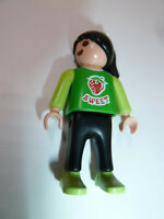 Playmobil City little girl action figure toy sweet strawberry shirt child kid!