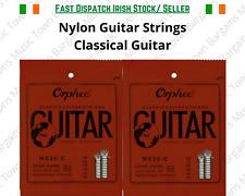 Classical Nylon Guitar Strings Black Nylon Hard Tension Spanish Violāo Guitara