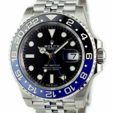 ROLEX - 2019 SS GMT Master II Blue Black CERAMIC 126710 BLNR Batman - SANT BLANC