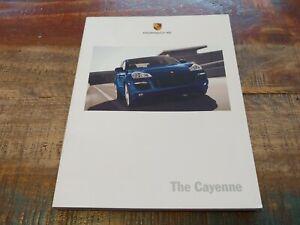 Nice D'Occasion Original Véritable 2008 Porsche Cayenne Sales Brochure W Color