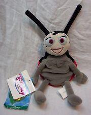 "Walt Disney Store A Bug's Life FRANCIS LADYBUG 10"" Bean Bag Stuffed Animal NEW"