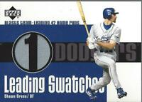 2003 Upper Deck Leading Swatches #SG Shawn Green HR Jersey - NM-MT