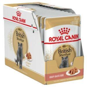 Royal Canin Adult British Shorthair in Gravy Wet Cat Food 12x85g