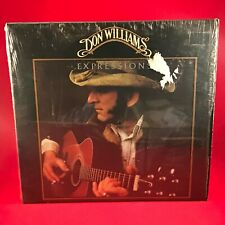 DON WILLIAMS Expressions  1978 UK Vinyl LP Excellent Condition Record gatefold