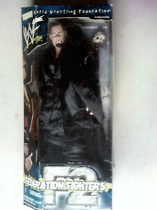 "WWF Federation Fighters 12"" Ministry Of Darkness Undertaker RARE"