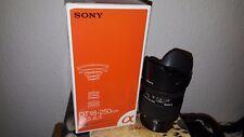 Sony Alpha SAL18250 18-250 mm F/3.5-6.3 DT Objektiv Original Verpackt