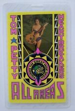 Tom Petty And The Heartbreakers Backstage Pass Original Rock Pop Music 1991
