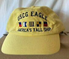 New Us Coast Guard hat cap Uscg Eagle America's Tall Ship crew flags